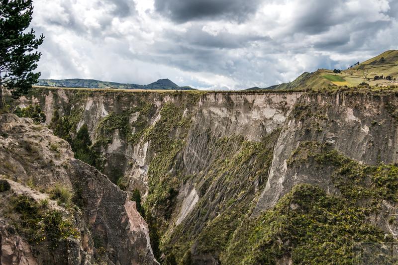 Toachy River Canyon
