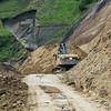 neue Strasse zwischen Sigchos und Quilotoa, teilweise noch im Bau