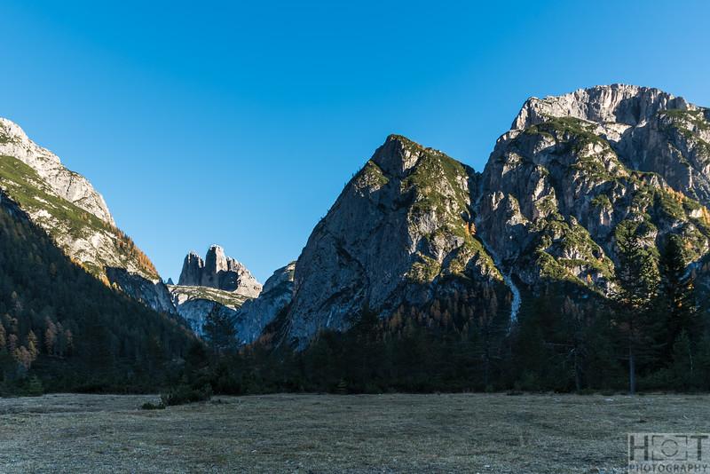 Drei Zinnen Blick, Höhlensteintal