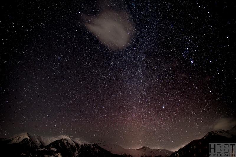 Nachthimmel in Vignogn