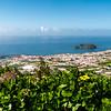 Vila Franco da Campo mit seiner Insel