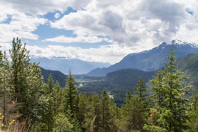 View to Brackendale Eagles Park, Squamish