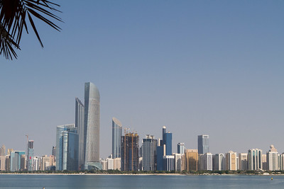 Skyline Abu Dhabi with Corniche
