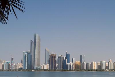 Skyline Abu Dhabi with Corniche