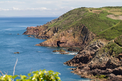 Hiking along Jersey's wonderful coast