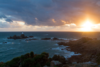 Jersey, La Corbière Lighthouse