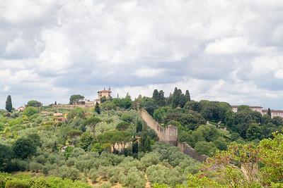 Le mura di Firenze