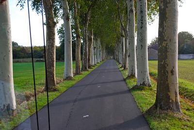 Weg nach Vaux-le-Vicomte