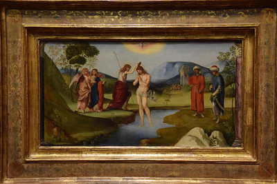 Museum Gulbenkian, Francesco Francia (1450-1577), Taufe Christi