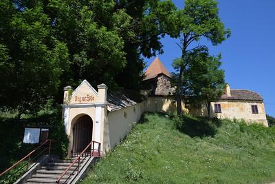 Wehrkirche in Alzen