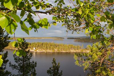 Blick von der Heiligen Insel