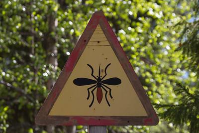 Hyttysiä Alarm