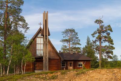 Kirche in Saariselkä
