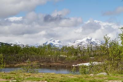 Wanderung im Treriksröset Norwegen/Finnland/Schweden