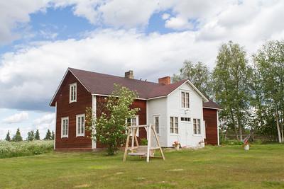 Haupthaus in der Rentierfarm