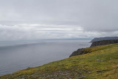 Blick Richtung Arktischer Ozean