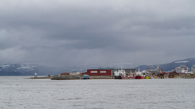 Industriehafen in Hammerfest
