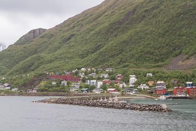 Hafen in Øksfjord