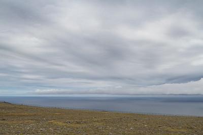 Blick Richtung Nordpolarmeer