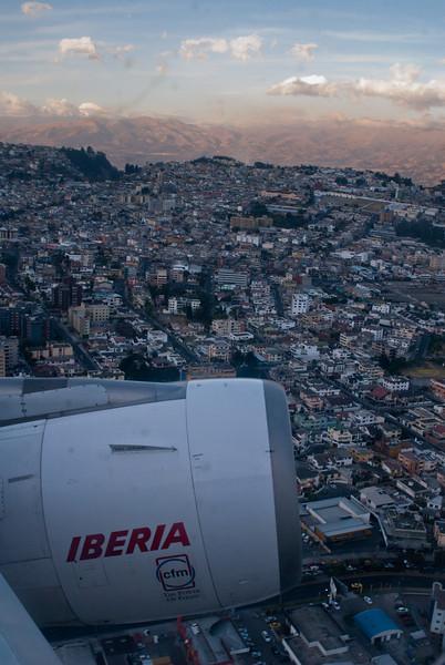 Quito aan onze voeten