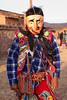 Feesten in Peru gaan altijd gepaard met dansen en verkleedpartijen met deze typische maskers, altijd een kleurrijk gedoe.