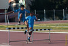 Horden training in het Parque Zonal van Wanchaq. <br /> Meerdere malen per week, soms tot zes maal, vertoeven we een uur tot anderhalf uur in het stadion waar Yngwie zijn trainingen afwerkt met het oog op wat nog komen moet in de verdere verloop van het seizoen.