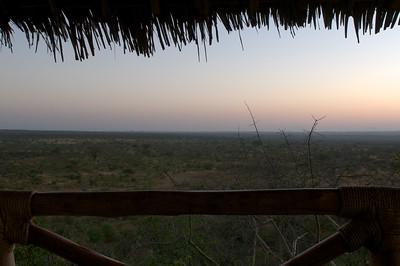 Early morning at Lake Chala Safari Camp