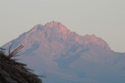 Mountains in morning sun