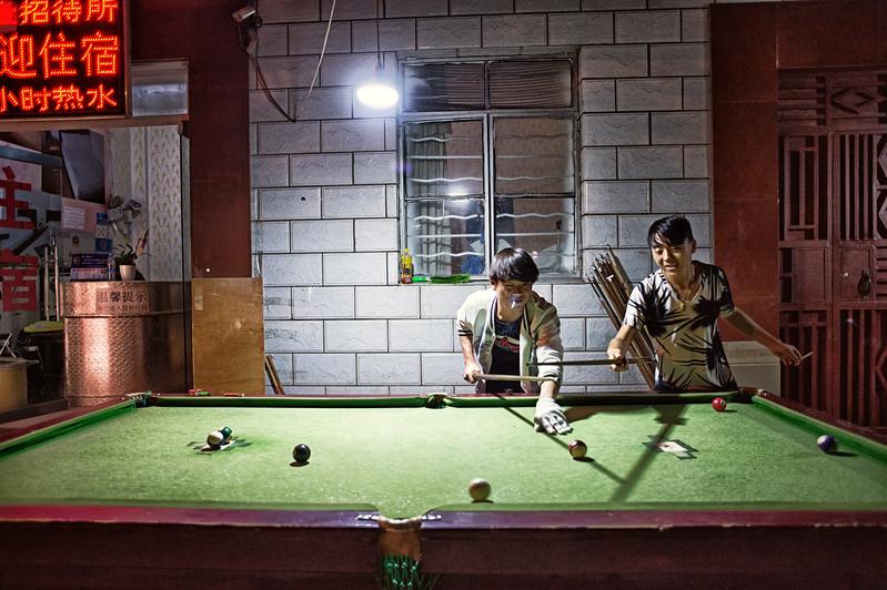 Outside pool in Kunming