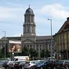 Het oude stadhuis werd gebouwd in 1911 door Ludwig Hoffmann.