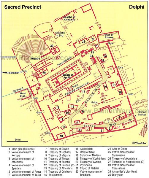 MvD-20020819-41-Delphi-Plattegrond Heiligdom Apollo