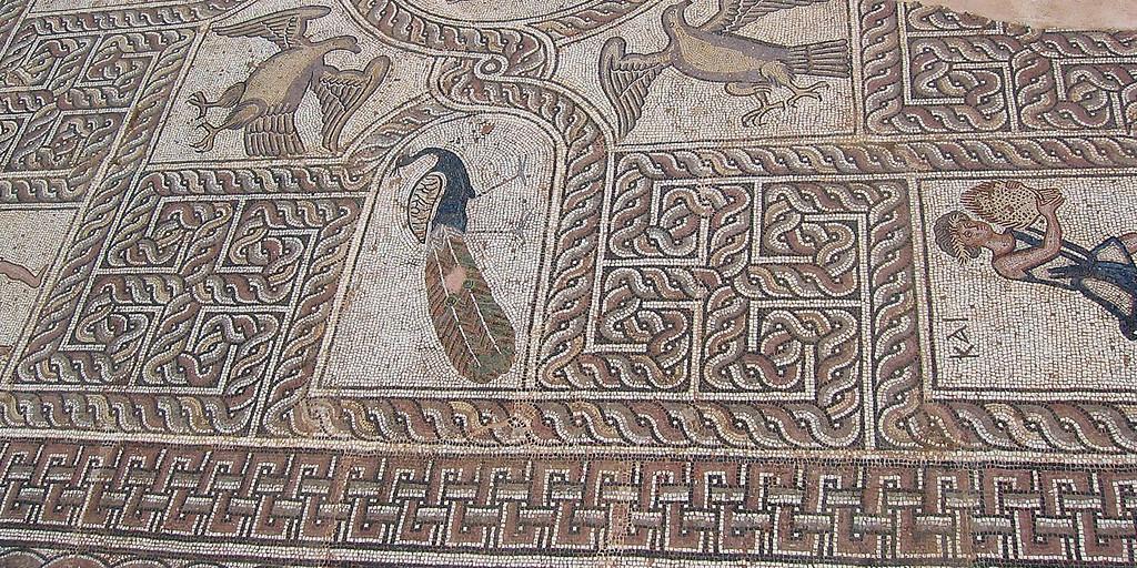 MvD-20020819-08-Delphi-Mozaiek ingang museum