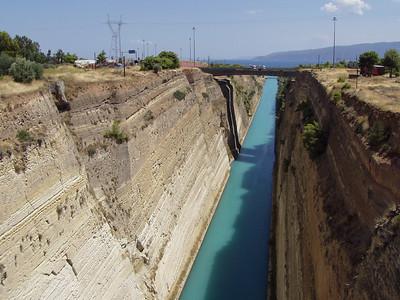 Korinthos Kanaal-Oud Korinthos 2002