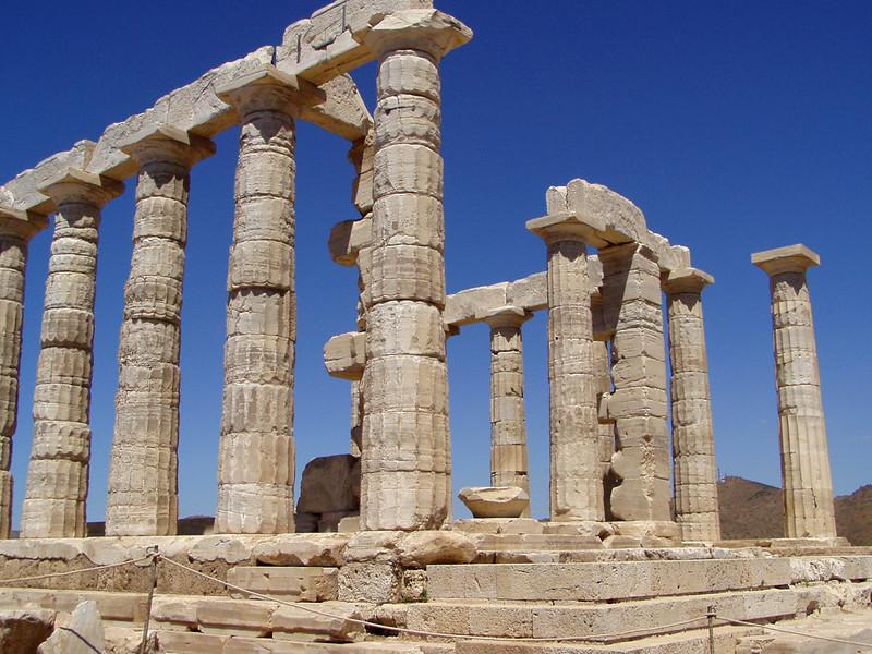 Sounio - Tempel van Poseidon