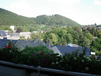 zicht op de Mühlenkopfschanze