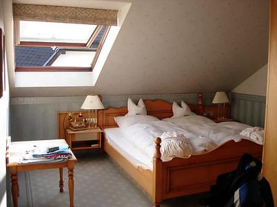 onze slaapkamer in 't Göbels landhotel te Willingen