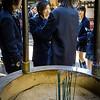 Teenagers on school trip, Kyoto Japan.