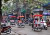Hanois gamle bydel - maaaange mennesker