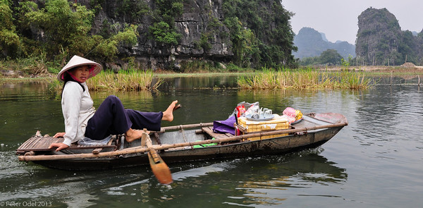 Tam Coc og Hoa Lua