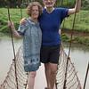 et fornøjet yngre par vi mødte på en hængebro :)