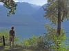 """B and B i en lille perle """"New Denver"""". På den anden side af søen """"Valhalla National Park"""""""