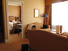 """Vi boede i """"suite"""" med soveværelse og dagligstue..."""