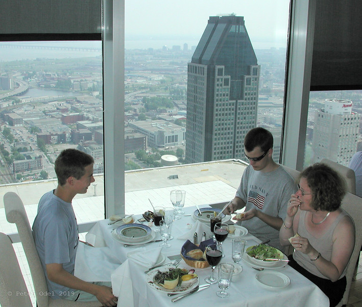 frokost i Montréal