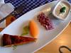 Middag i Karlsborg ved Göta Kanal: - löjrom, uhhm!