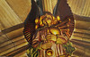 I St. Giles Cathedral spiller englene på sækkepibe..