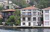 villaer langs Bosporus