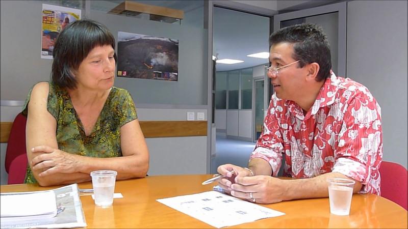 interview med en journalist
