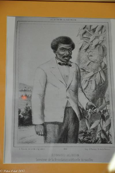 denne slave opfandt måde at befrugte vanillen på med en nål...
