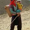 Mong kvinde med barn...