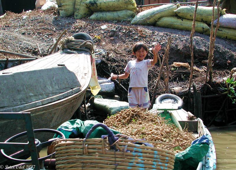 sejltur i Mekong-deltaet